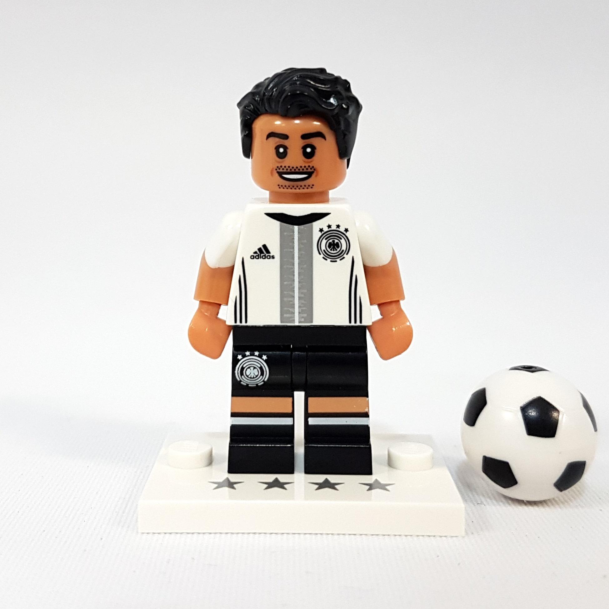 Lego Dfb MiniFiguren Beipackzettel weißer Platte Fussball Christoph Kramer Nr.20
